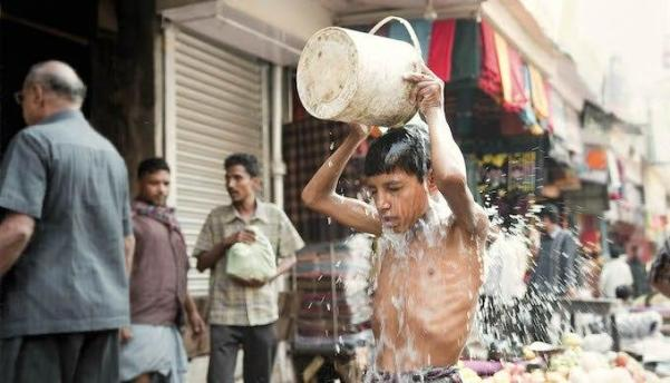 The heat in Indian cities has become unbearable in the summers.