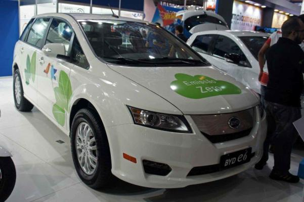 Electric Car China Byd E6 By Mariordo59