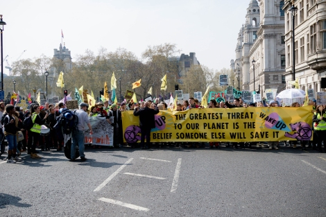 London, United Kingdom, 15th April 2019:- Extinction Rebellion P