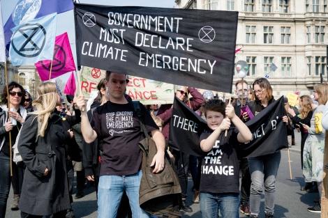 London, United Kingdom, 15th April 2019:- Extinction Rebellion P