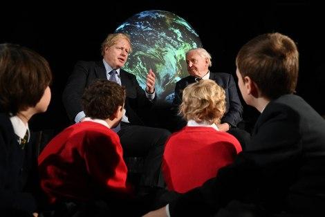 Boris Johnson launch of COP26